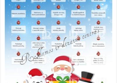 Advento kalendorius su nutrinamais laukeliais - 1