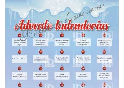 Advento kalendorius su nutrinamais laukeliais - 2